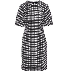 Banana Republic Gingham Sheath Dress Short-Sleeve